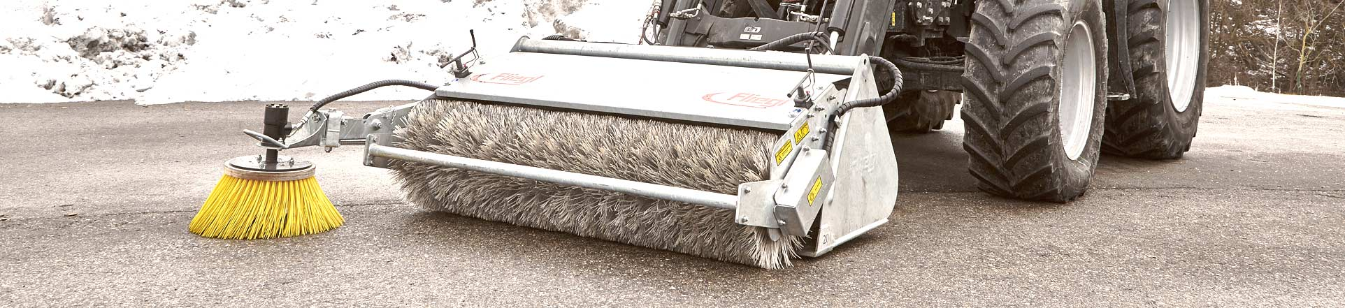 Fliegl sweeper machines