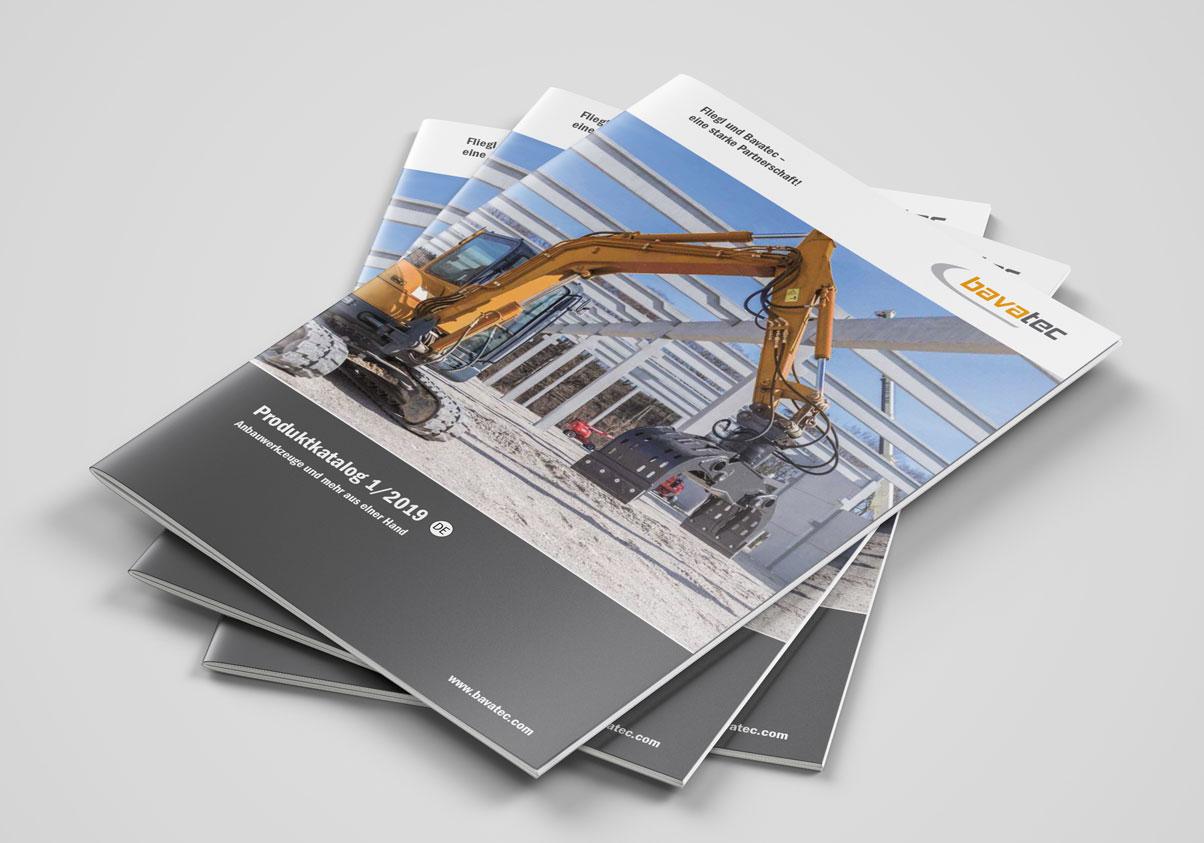 Bavatec Produktkatalog für Bagger-Anbaugeräte – Jetzt downloaden