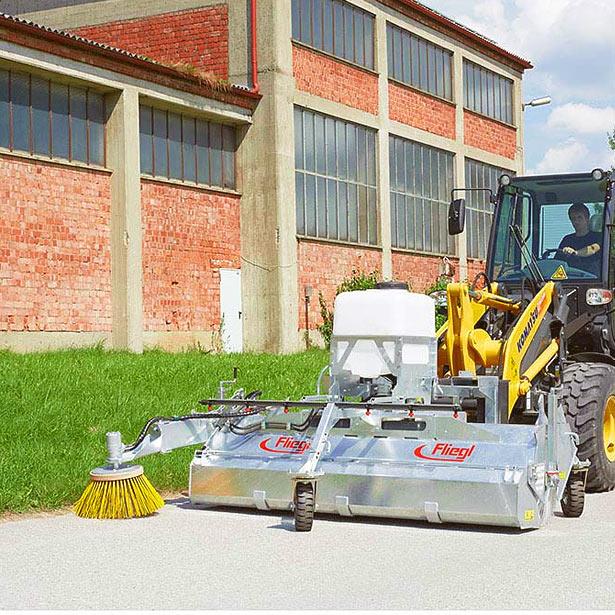 Sweeper machine - type 500