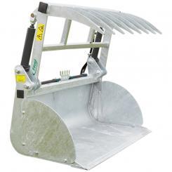 Dung- u. Silageschaufel - Small - Zweizylinder-Ausführung