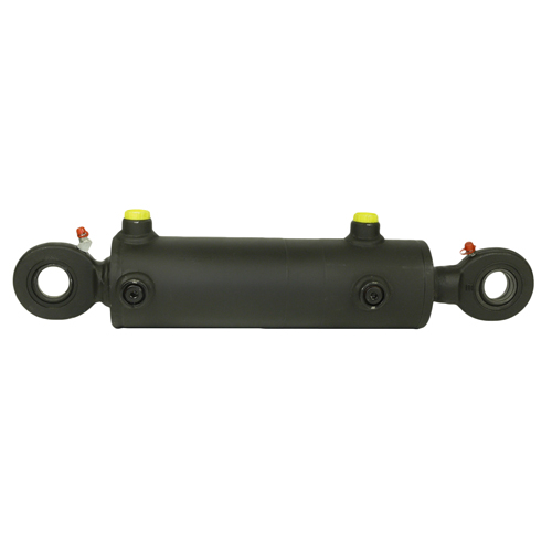 Zylinder links D25x20 L370 / alte Ausf. - für zwangslenkung