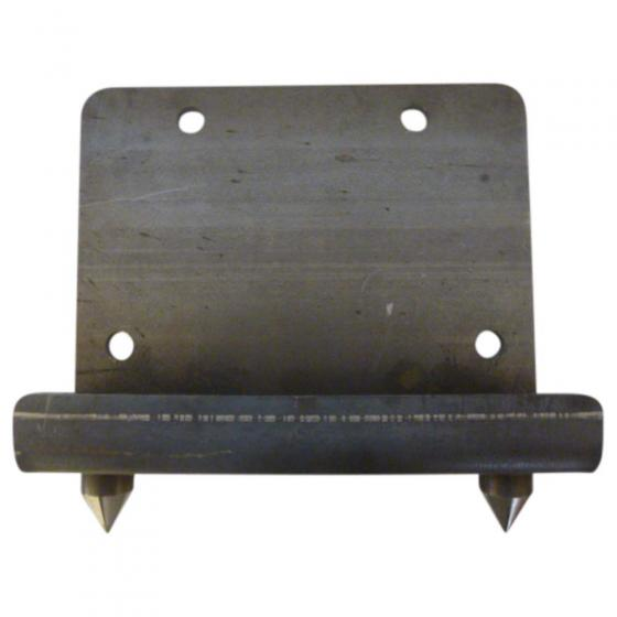 Weld-on adapter plate