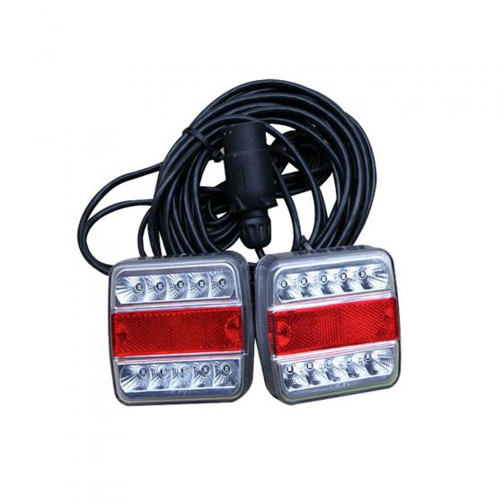 Anhängerbeleuchtung kpl. LED (10x3 Watt)