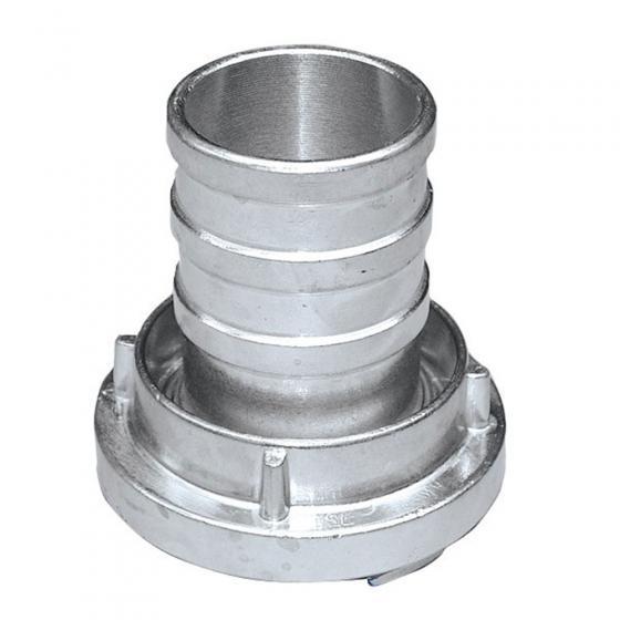 Aluminium suction coupling