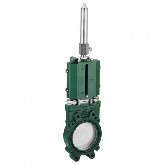 Plattenschieber MZ10E hydraulisch DW