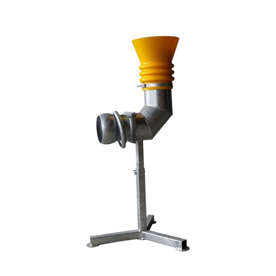 """""""Suction head 8"""""""" with frame galvanized"""""""