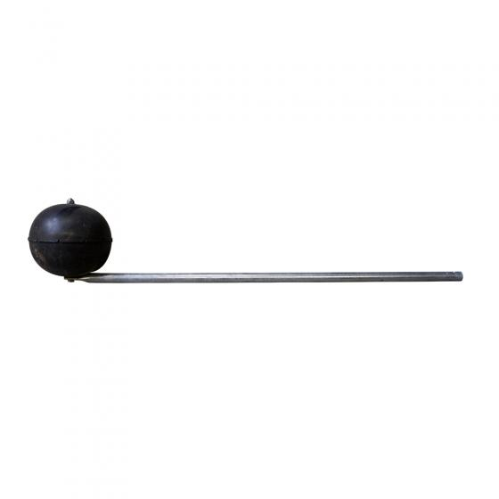 Linkage with float ball - for tank fill level indicator