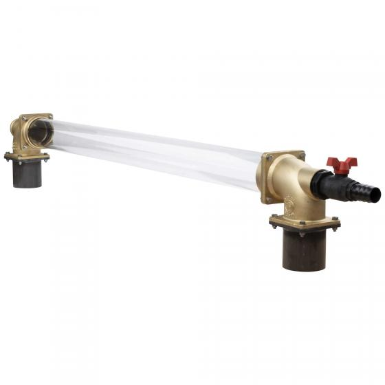 Fill level indicator with plexiglass cylinder - MZ