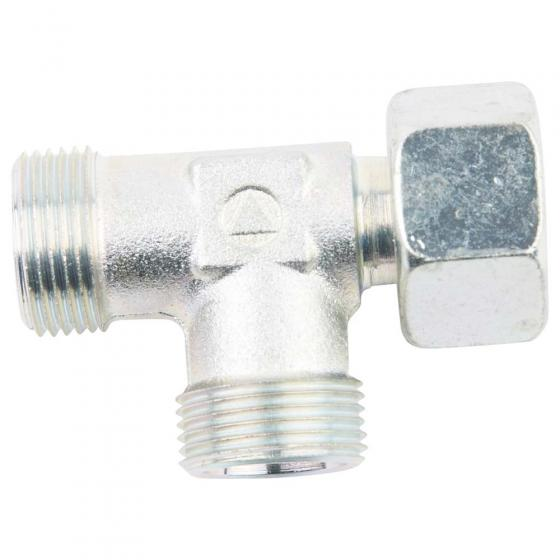 Adjustable L screw-in connection