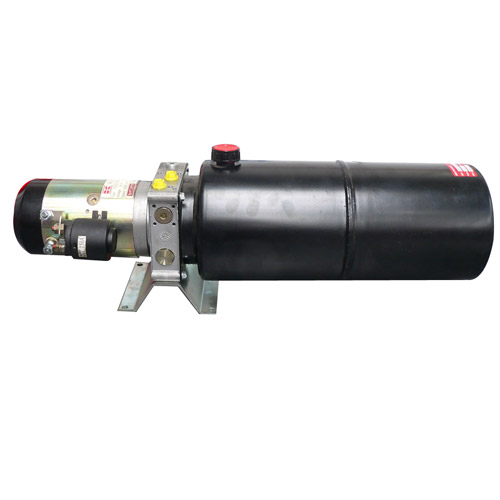 Hydraulikaggregat 24V / 12 Liter rund