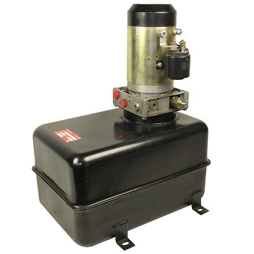 Hydraulikaggregat 12V / 15 Liter rechteckig