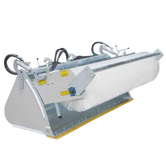 Broom machine  incl. heavy duty bucket POWERPRO