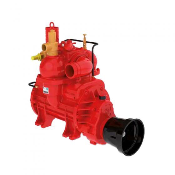 Kompressor Battioni - Doppelanschluß / novagrau