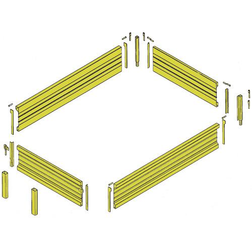 Umrüstsatz Aufsatzbordwände f. Aufbau 500
