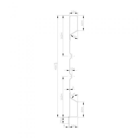 Aufsatzbordwand HVAK