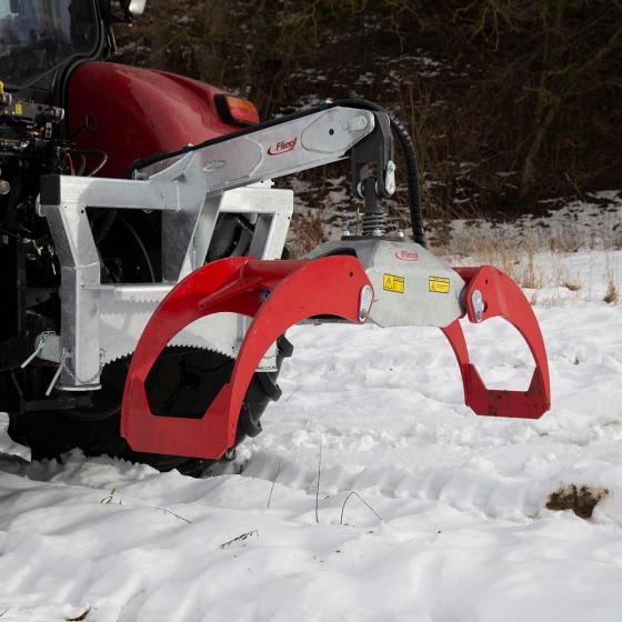 Rückezange hydraulisch Combi RZ 185
