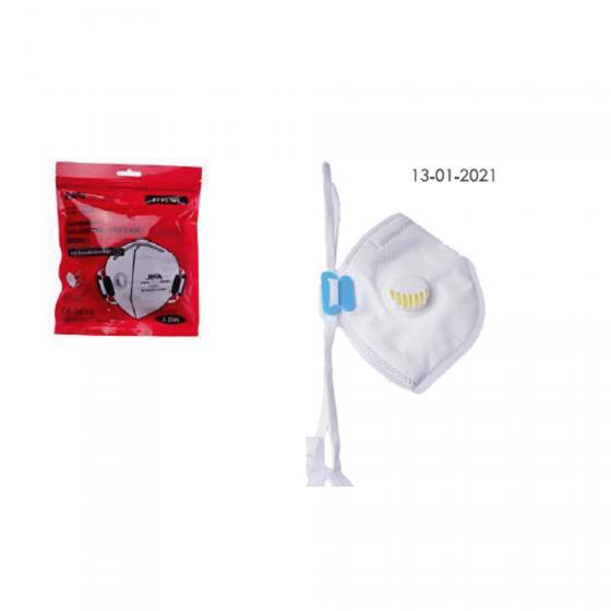 Feinstaub-Atemschutzmaske mit Ventil
