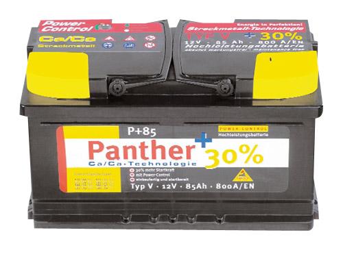 Batterie mit Füllung P+45