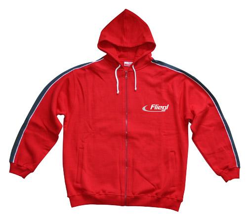 Fashion / Sweatshirtjacke mit Kapuze