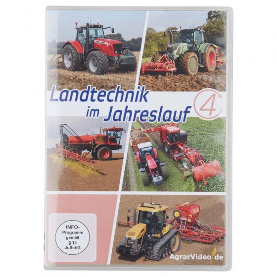 """DVD """"Landtechnik im Jahreslauf - Teil 4"""""""