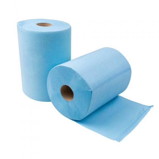 Putztuchrolle blau 360x350mm