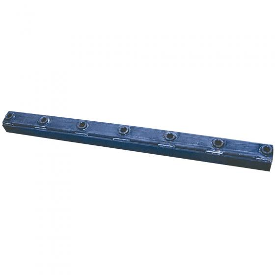 Tine carrier for front loader tines