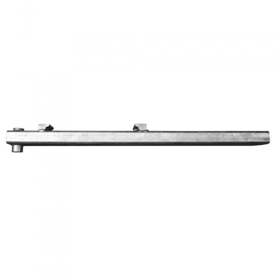 Attachment for round bale tines / adjustable
