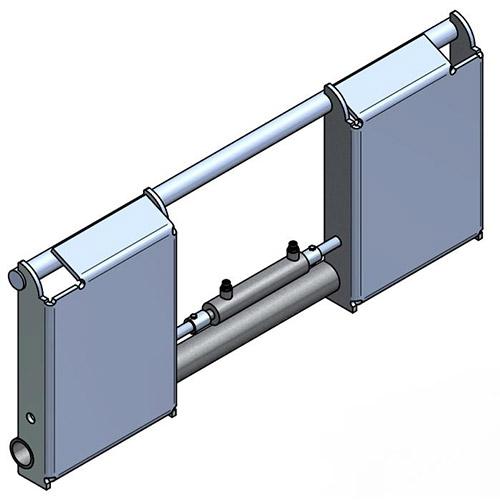 Intermediate adapter hydraulical