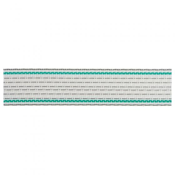 0,15 €//1 m Länge 200 m 449124 grün AKO Premium Plus Weidezaunband weiß